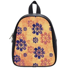 Funky Floral Art School Bag (small)