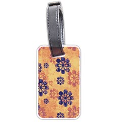 Funky Floral Art Luggage Tag (one Side)