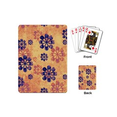 Funky Floral Art Playing Cards (mini)