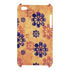 Funky Floral Art Apple iPod Touch 4G Hardshell Case