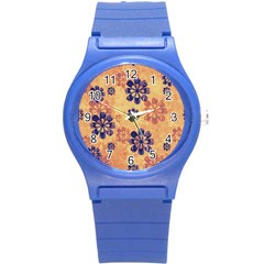 Funky Floral Art Plastic Sport Watch (small)