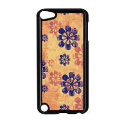 Funky Floral Art Apple iPod Touch 5 Case (Black)