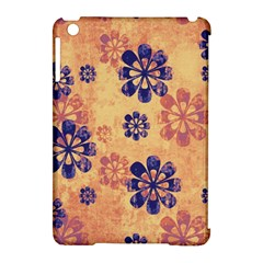 Funky Floral Art Apple iPad Mini Hardshell Case (Compatible with Smart Cover)