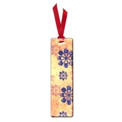 Funky Floral Art Small Bookmark