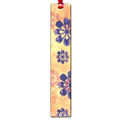 Funky Floral Art Large Bookmark
