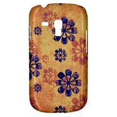 Funky Floral Art Samsung Galaxy S3 MINI I8190 Hardshell Case