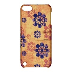 Funky Floral Art Apple iPod Touch 5 Hardshell Case with Stand