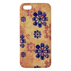 Funky Floral Art Iphone 5 Premium Hardshell Case