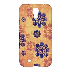 Funky Floral Art Samsung Galaxy S4 I9500/i9505 Hardshell Case