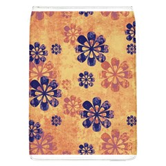 Funky Floral Art Removable Flap Cover (large)