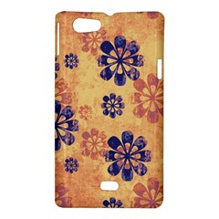 Funky Floral Art Sony Xperia Miro Hardshell Case