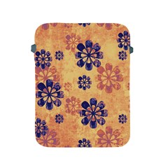 Funky Floral Art Apple iPad Protective Sleeve