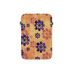 Funky Floral Art Apple iPad Mini Protective Sleeve