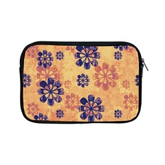 Funky Floral Art Apple Ipad Mini Zippered Sleeve