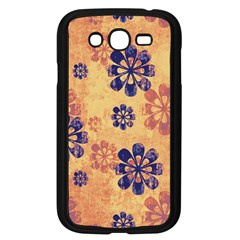 Funky Floral Art Samsung Galaxy Grand DUOS I9082 Case (Black)