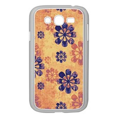 Funky Floral Art Samsung Galaxy Grand DUOS I9082 Case (White)