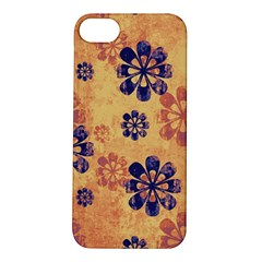 Funky Floral Art Apple iPhone 5S Hardshell Case