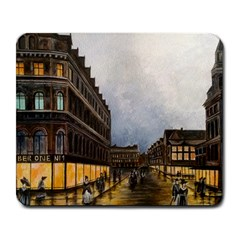 Out on the Town Large Mouse Pad (Rectangle)