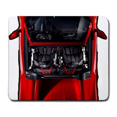 Ferrari Sport Car Red Large Mouse Pad (rectangle)