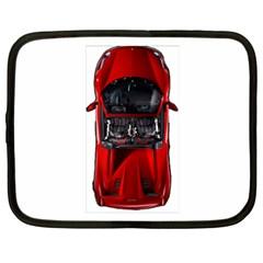Ferrari Sport Car Red Netbook Sleeve (xxl)