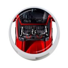 Ferrari Sport Car Red 4 Port Usb Hub (one Side)