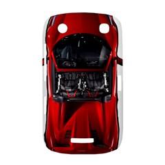 Ferrari Sport Car Red BlackBerry Curve 9380 Hardshell Case