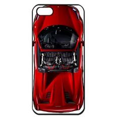 Ferrari Sport Car Red Apple Iphone 5 Seamless Case (black)
