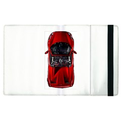 Ferrari Sport Car Red Apple Ipad 3/4 Flip Case