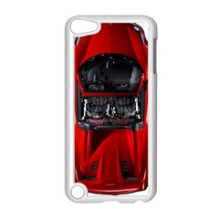 Ferrari Sport Car Red Apple iPod Touch 5 Case (White)