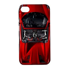 Ferrari Sport Car Red Apple iPhone 4/4S Hardshell Case with Stand