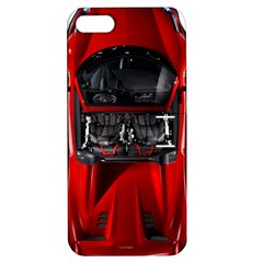 Ferrari Sport Car Red Apple iPhone 5 Hardshell Case with Stand