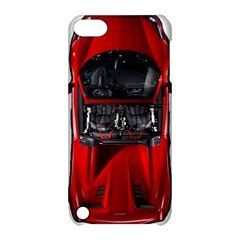 Ferrari Sport Car Red Apple iPod Touch 5 Hardshell Case with Stand