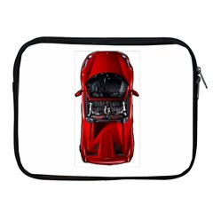 Ferrari Sport Car Red Apple iPad Zippered Sleeve