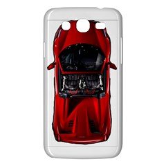 Ferrari Sport Car Red Samsung Galaxy Mega 5.8 I9152 Hardshell Case