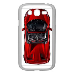 Ferrari Sport Car Red Samsung Galaxy Grand DUOS I9082 Case (White)