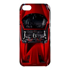 Ferrari Sport Car Red Apple iPhone 5C Hardshell Case