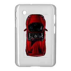 Ferrari Sport Car Red Samsung Galaxy Tab 2 (7 ) P3100 Hardshell Case