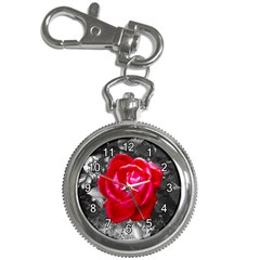 Red Rose Key Chain & Watch