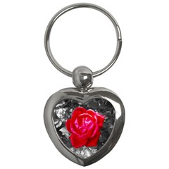 Red Rose Key Chain (heart)