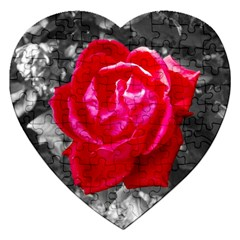 Red Rose Jigsaw Puzzle (Heart)
