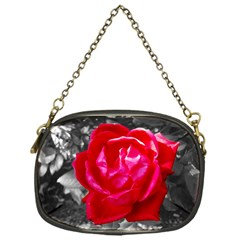 Red Rose Chain Purse (One Side)