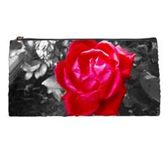 Red Rose Pencil Case