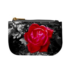Red Rose Coin Change Purse