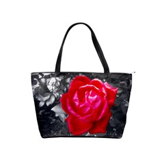 Red Rose Large Shoulder Bag