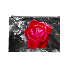 Red Rose Cosmetic Bag (Large)