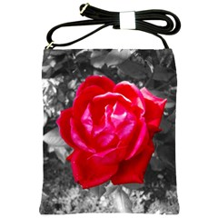 Red Rose Shoulder Sling Bag