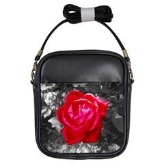 Red Rose Girl s Sling Bag