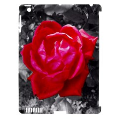 Red Rose Apple Ipad 3/4 Hardshell Case (compatible With Smart Cover)
