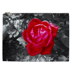 Red Rose Cosmetic Bag (xxl)