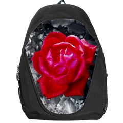 Red Rose Backpack Bag